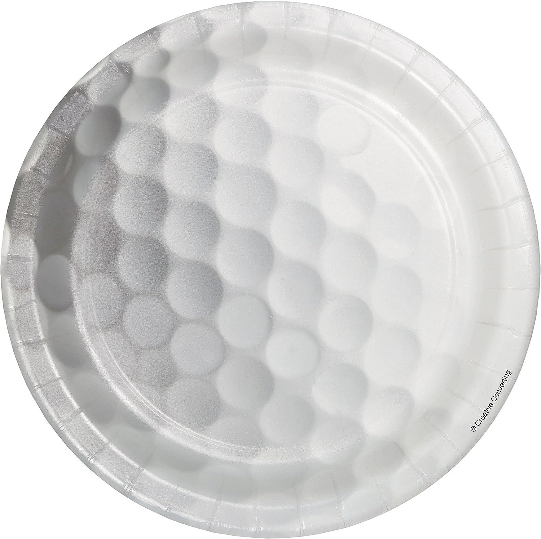 Golf Dessert Plates, 24 ct