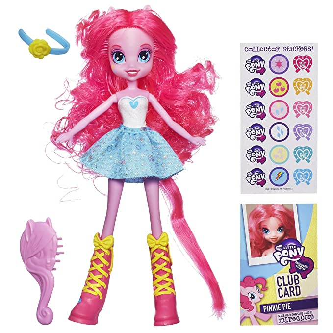 Amazon.com: my little pony Equestria Girls – Muñeca Pinkie ...