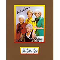 The Golden Girls, 8 X 10 Photo Autograph on Glossy Photo Paper