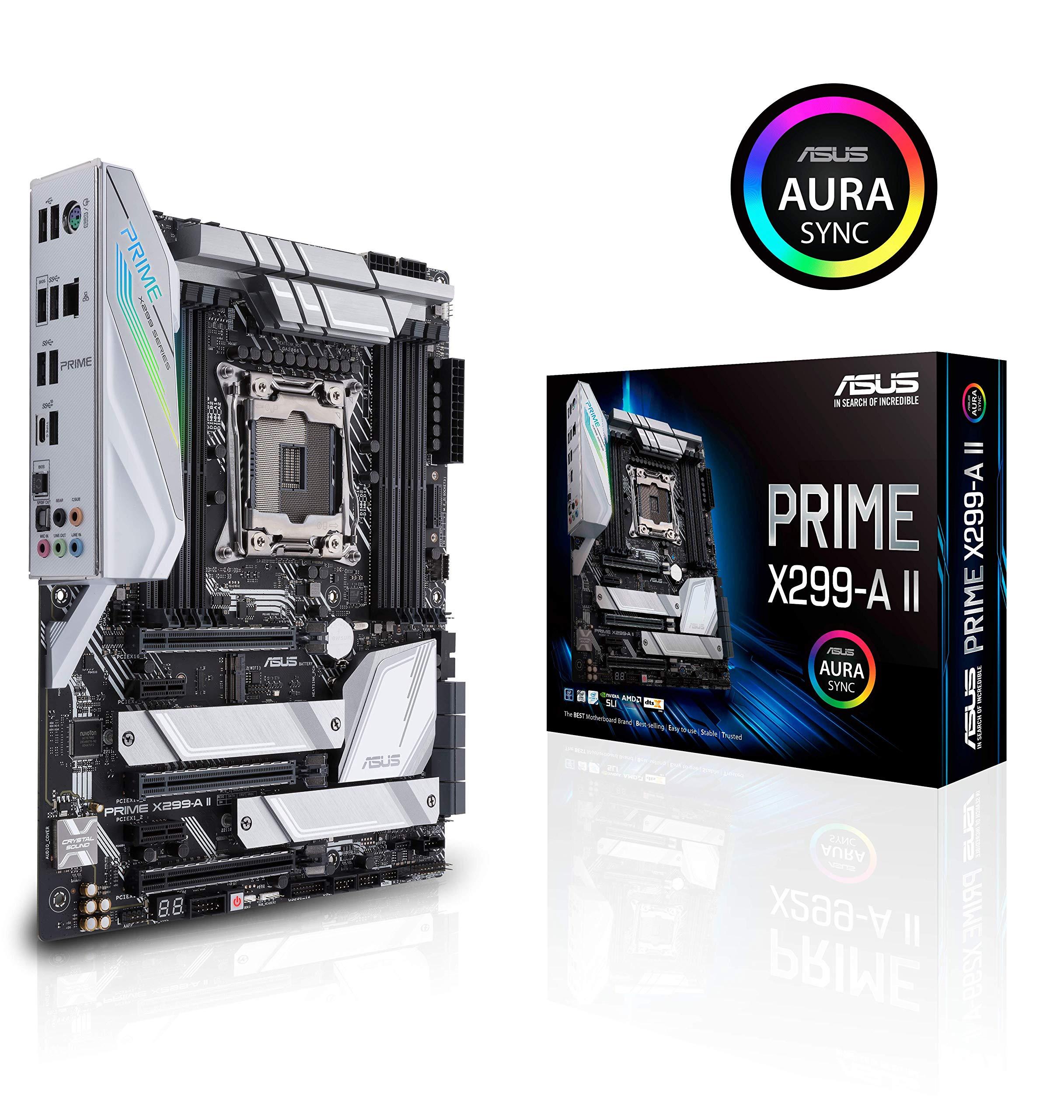 Asus Prime X299- A Ii Atx Motherboard (intel X299) Lga 20...