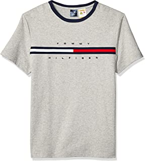 3756476a Tommy Hilfiger Men's Adaptive T Shirt with Magnetic Buttons at Shoulders