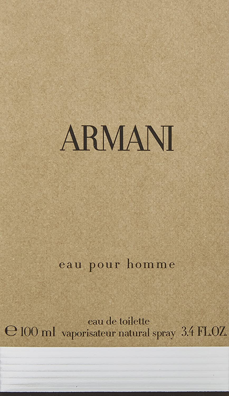 Amazoncom Giorgio Armani Eau De Toilette Spray For Men 34 Ounce