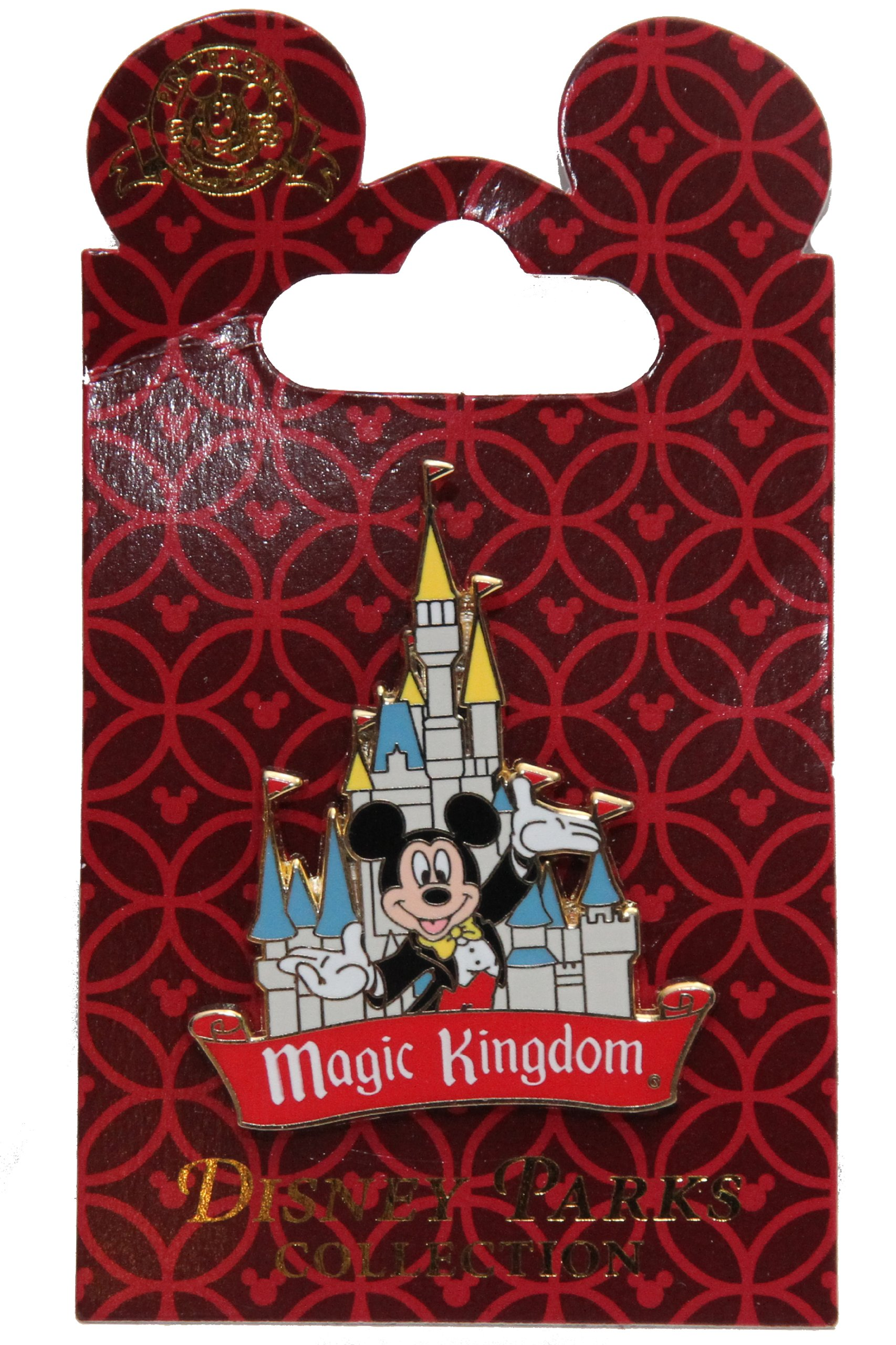 Disney Pin #60420: WDW - Magic Kingdom Park - Mickey Mouse