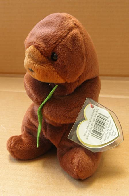9c21d7b4a74 Amazon.com  Ty Beanie Babies Seaweed the Otter with errors  Toys   Games
