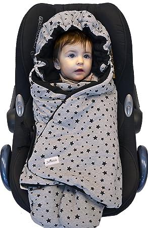 Amazon JANABEBE Swaddling Wrap Car Seat And Pram Blanket Universal For Infant Child Seats Eg Maxi COSI Britax A Pushchair Stroller
