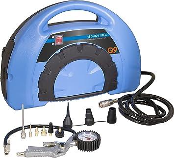 Güde 50121 Kompressor Kompakt Set 180 08 11 Tlg 1 1 Kw 110l Min Liefermenge 8 Bar Maximum Druck 8tlg Adapter Set Baumarkt