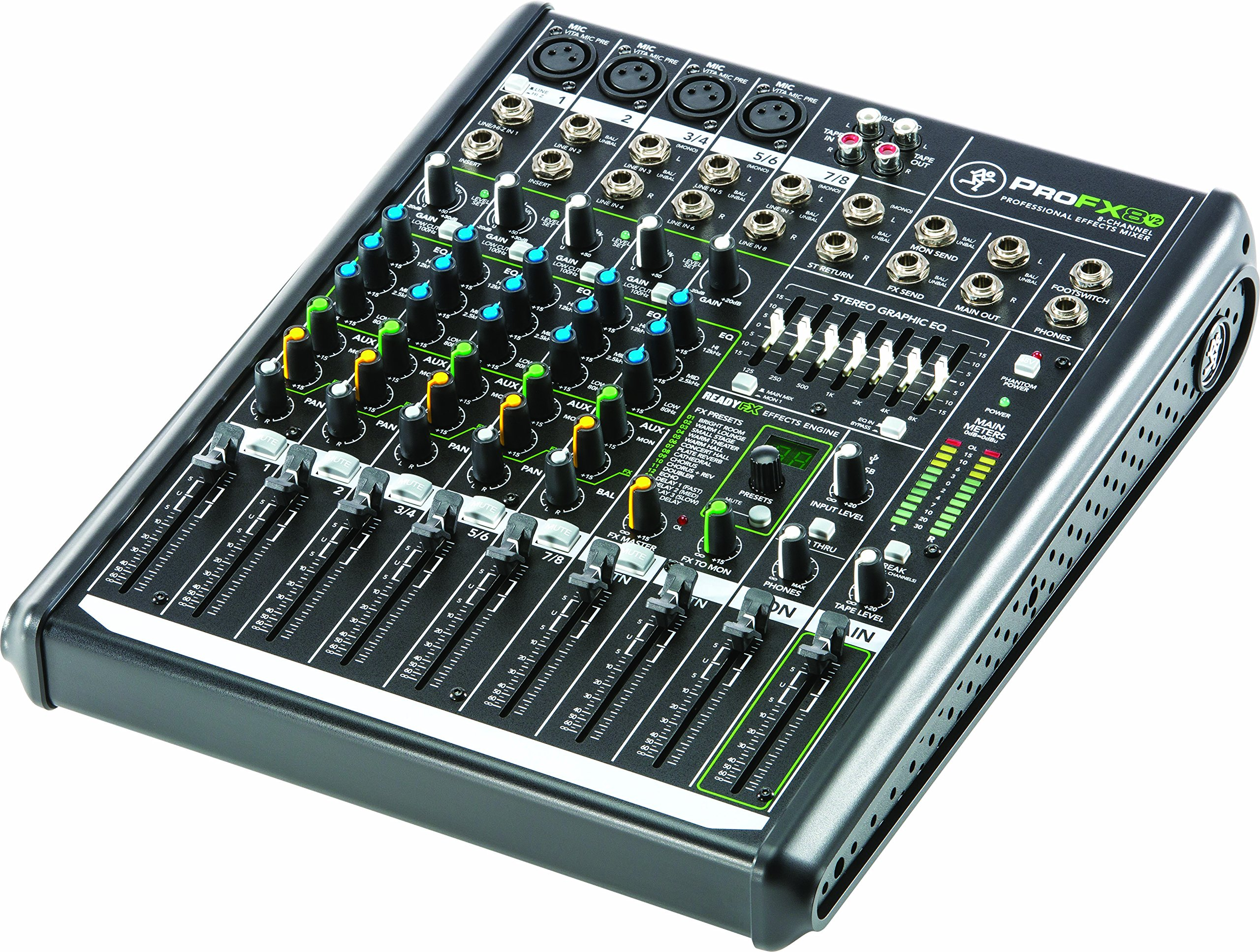 Mackie PROFX8V2 8-Channel Compact Mixer with USB and Effects by Mackie (Image #4)