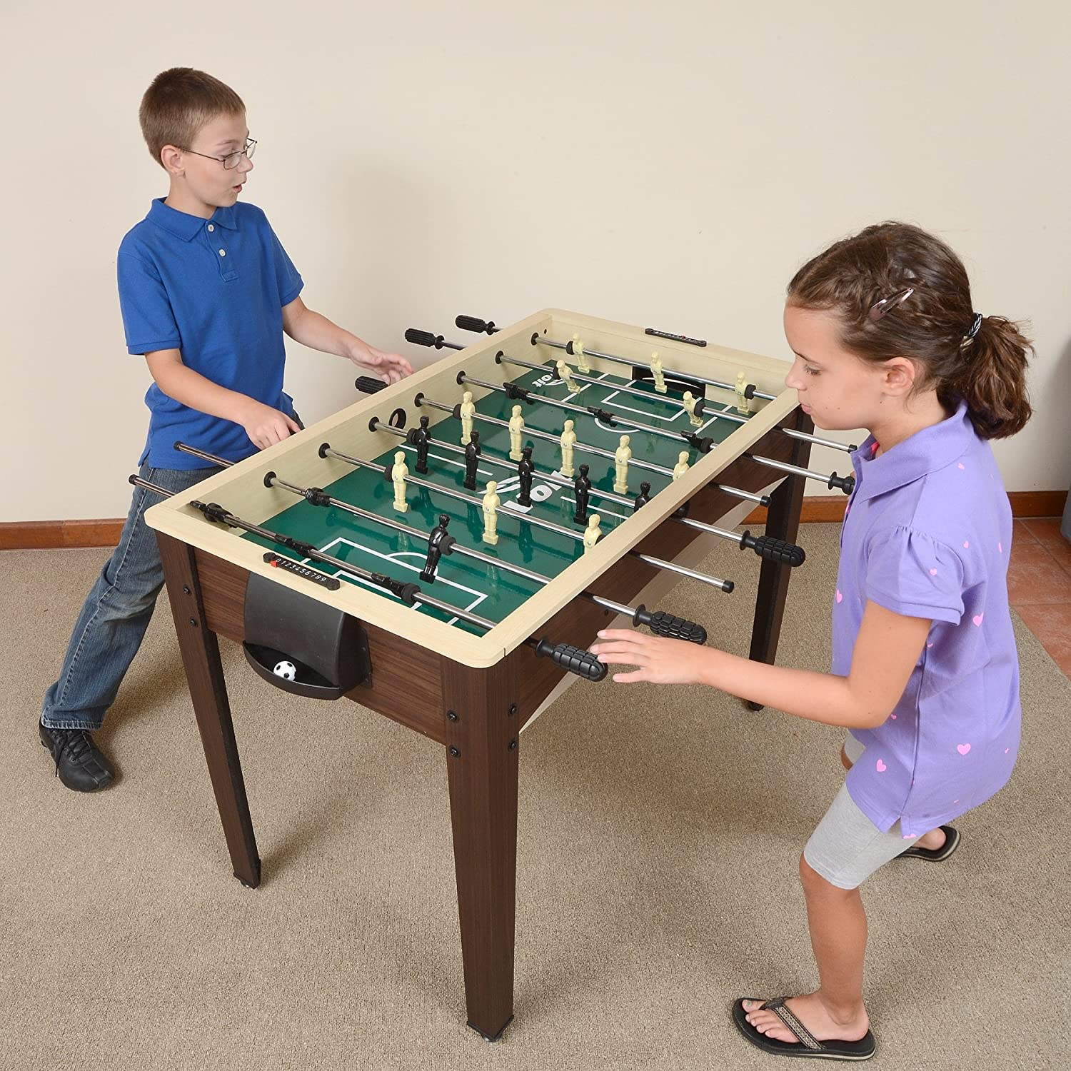 Great Amazon.com : Voit Free Kick Foosball Table, 48 Inch : Sports U0026 Outdoors