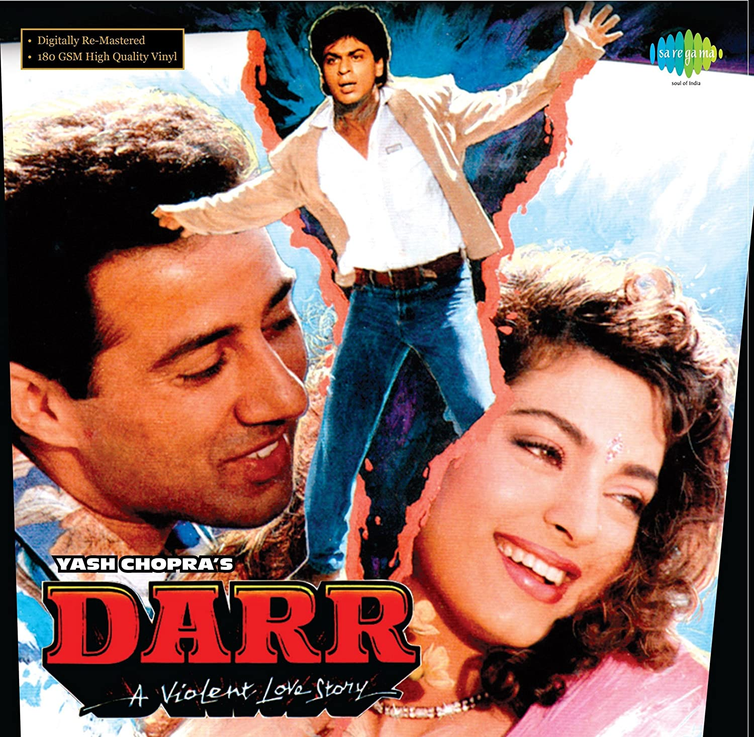 SHAHRUKH KHAN AND JUHI CHAWLA - DARR (LP) - Amazon.com Music