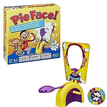 Hasbro pie face german version amazon toys games hasbro pie face german version solutioingenieria Choice Image
