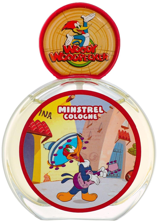Woody Woodpecker Minstrel, Eau de Toilette spray per bambini, 50 ml First American Brands WDYMNSK0005002