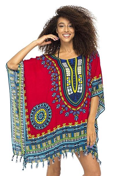 Diseño de Bali – Traje Corto para Mujer Playa Encubrir Caftan Africana Patrones