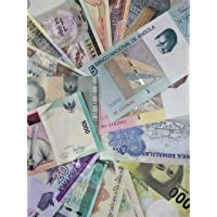 Novelty COLLECTIONS-50 World Currency Notes from 30 Countries