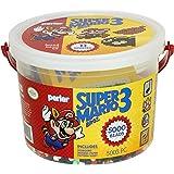 Perler Despicable Me Minions - Juego de cubeta de cuentas para artesanías, Super Mario Hermanos, 5003 pcs, 1