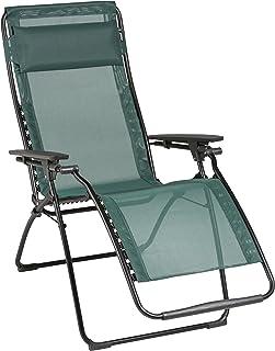 Lafuma Futura Zero Gravity Chair Black Steel Frame Cedre  sc 1 st  Amazon.com & Amazon.com : Lafuma Futura Zero Gravity Chair Grey Steel Frame ... islam-shia.org