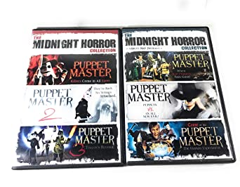 Puppet Master Collection (The Midnight Horror 6 Movie Collection)