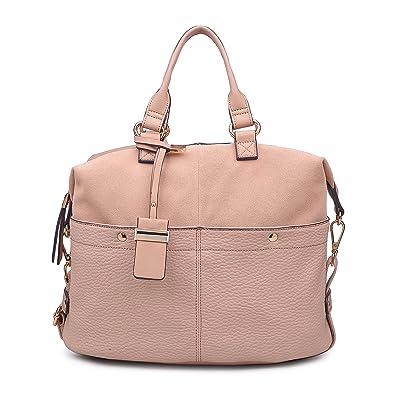 65e78126de01 Moda Luxe Womens Stylish London Satchel, Handbag, Asssorted Colors ...