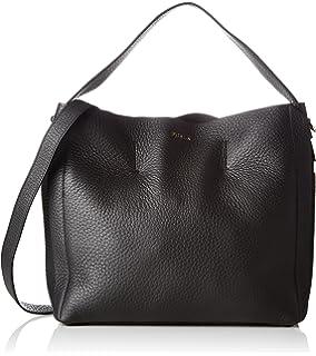 4152f252fb8 Furla Rialto M Hobo, Women s Shoulder Bag, Black (Onyx), 13x30x31 cm ...