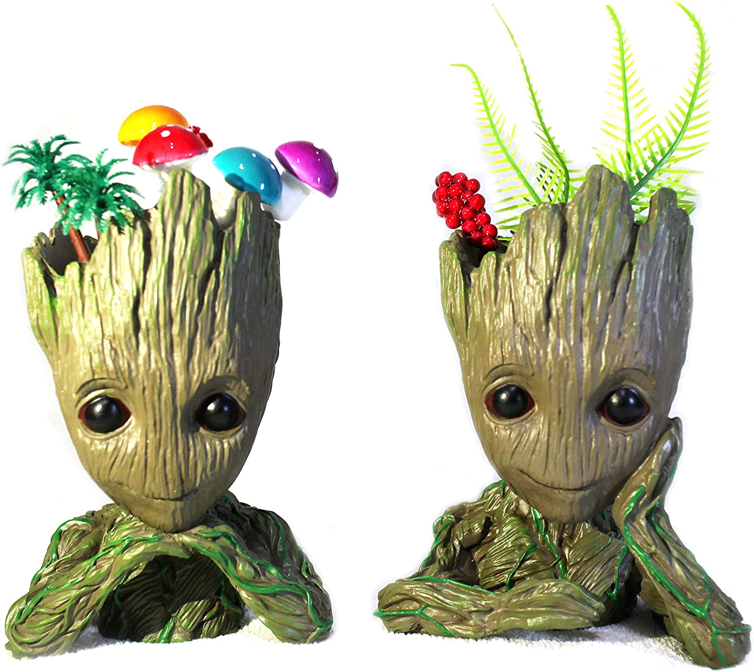 Amazon Com Cartoon Double Tree Man Flowerpot Cute Garden Pots Succulents Planters Gift For Kids Garden Outdoor Buy the best and latest tree cartoon on banggood.com offer the quality tree cartoon on sale with worldwide free shipping. cartoon double tree man flowerpot cute garden pots succulents planters gift for kids
