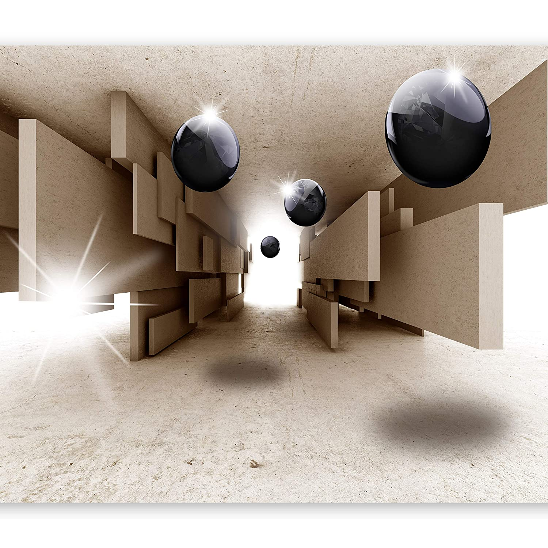 murando – Papier peint adhesif 100x70 cm – papier peint mural decoratif – cuisine et salon – feuille autocollante – tapisserie murale autocollante - abstraction Beton a-B-0015-a-b