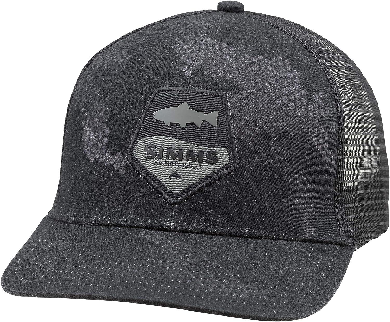 Simms Sombrero de béisbol Trout Patch Trucker – Gorra de béisbol ...