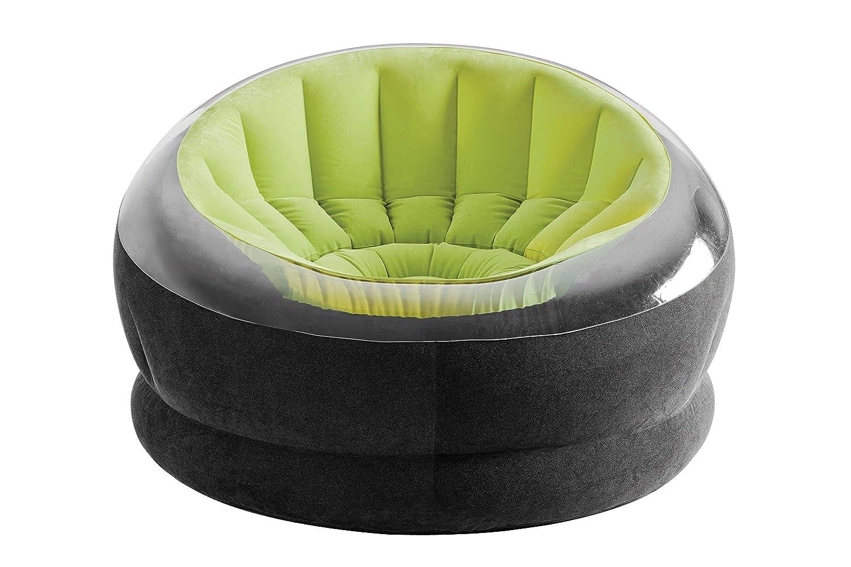 Intex 68581NP lounging chair Empire Chair, phthalates free, 112 x 109 x 69 cm, green