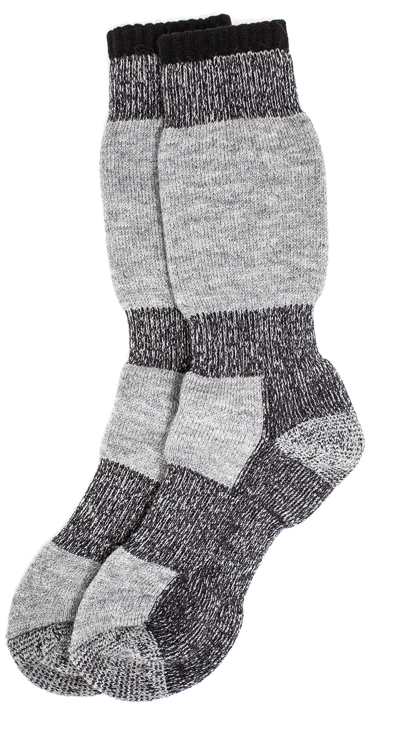 "2 Pairs Field/'s Icelandic /""30 Below Classic/"" Merino Wool Socks J.B"