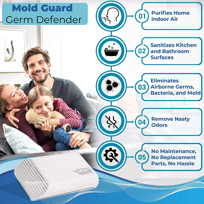 Hypoallergenic Air Mold Guard - Desinfectante de Superficie y ...