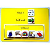 A4 Plastic Visual ASD Day Planner (Picture Communication Symbols)