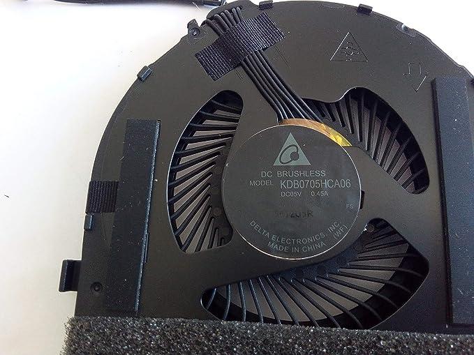 Thermal Module CPU Cooling Fan /& Heatsink for Lenovo Ideapad Yoga 15 Compatible 00JT284 Kam Kin NA