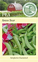 Seed Savers Exchange 0939 Open-pollinated Pea Seed, Amish Snap, 100 Seed Packet