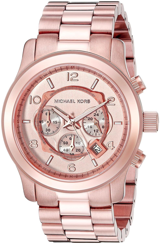 adb89ce33957 Amazon.com  Michael Kors Men s Runway Rose Gold-Tone Watch MK8096  Michael  Kors  Watches