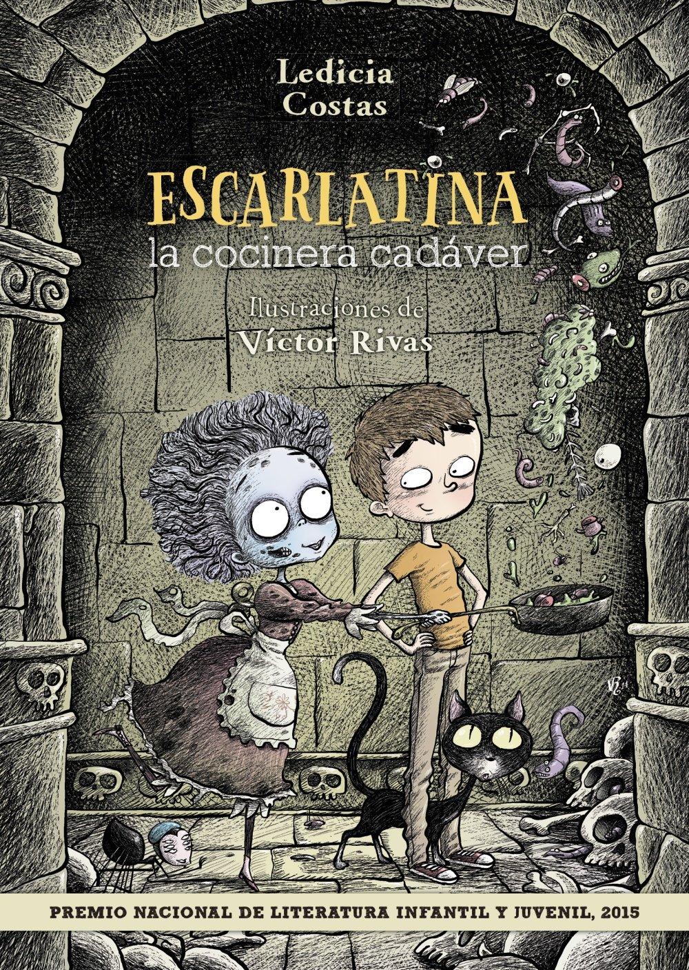 #Libro Escarlatina, la cocinera cadáver por sólo 7,34€