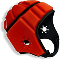 EliteTek Soft Padded Helmet (Red, Large)