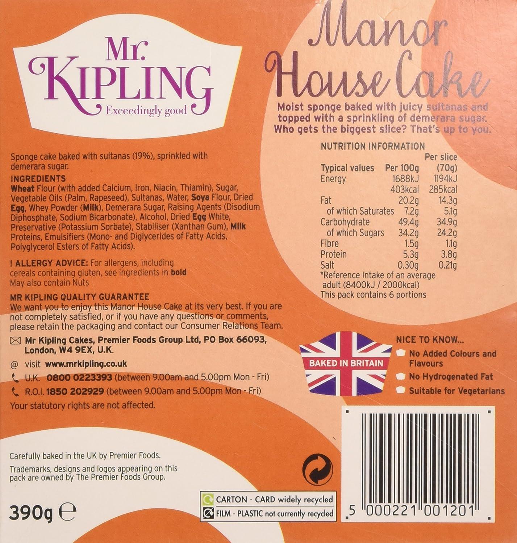 mr kipling manor house cake grocery gourmet food
