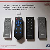 Remote for the Bose SoundDock series II III & 10 (TEN) Direct replacement