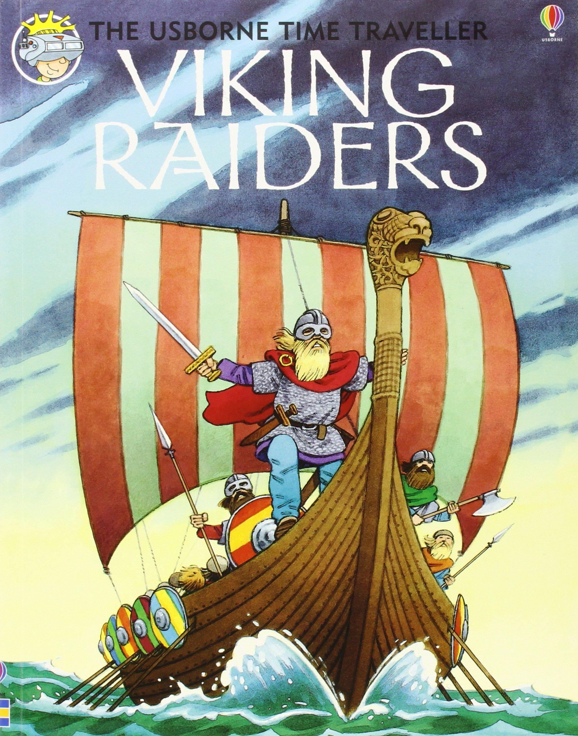 Viking Raiders (Usborne Time Traveler)