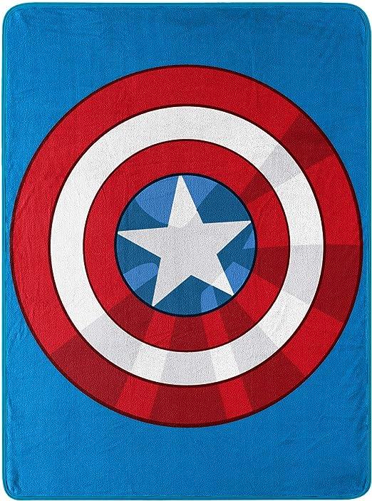 """Marvel Deadpool Paint Splatter Super Plush Cozy Throw Blanket 48"""" X 60"""""""