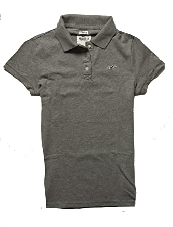 8da5e67a Amazon.com: Hollister Women's Polo Shirt T Shirt: Clothing