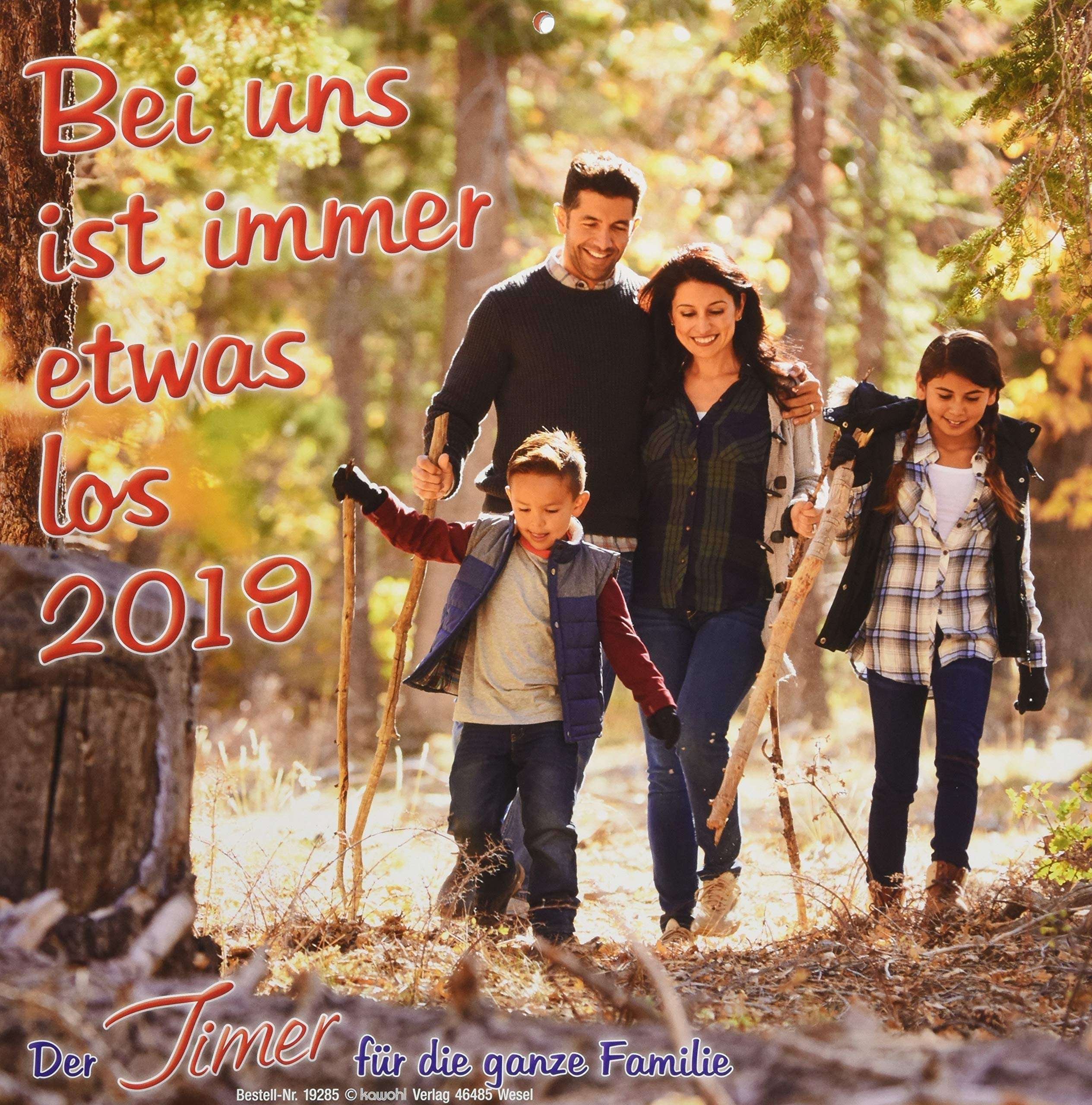 Bei uns ist immer etwas los 2019: Familien-Timer