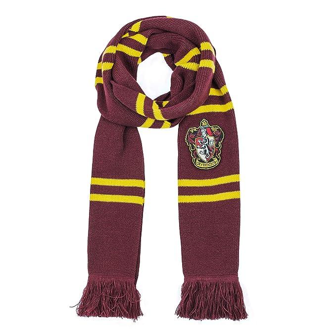 1564cbd672f Cinereplicas Harry Potter - Echarpe Officielle - 190 cm - Ultra Douce  (Deluxe Gryffondor)  Amazon.fr  Jeux et Jouets