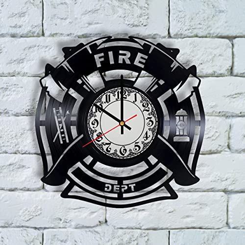 Amazon Firefighter Christmas Gifts For Men Clock