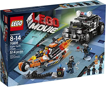 70808 LEGO Movie Super Cycle Chase Super Secret Police Minifigure Lot of 2