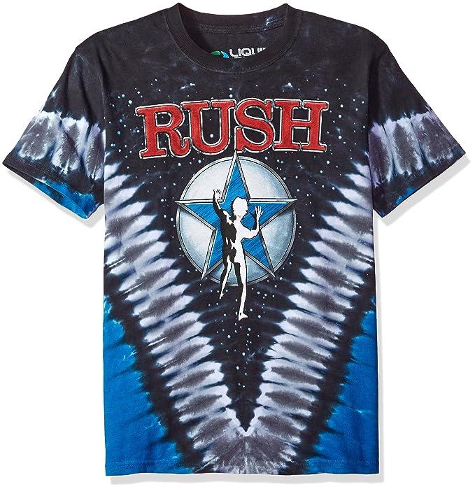9edd6a367 Liquid Blue Men's Rush Starman V Tie Dye Short Sleeve T-Shirt, Tie Dye