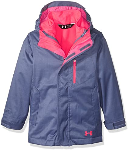 e35590b12c25 Amazon.com  Under Armour Girls  ColdGear Infrared Gemma 3-in-1 ...