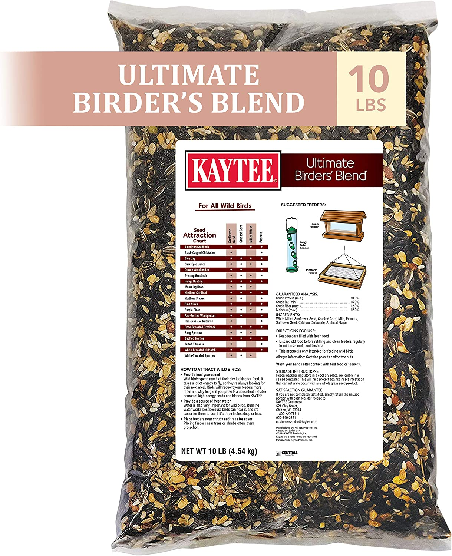 Kaytee Ultimate Birder's Blend Wild Bird Food, 10 lb