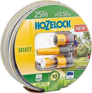 Benross GardenKraft 13760 30m 3-Layer Reinforced PVC Garden Hose with 6 Function Nozzle Set