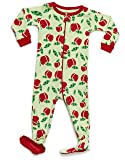 Leveret Kids Organic Cotton Apple Baby Boys Girls