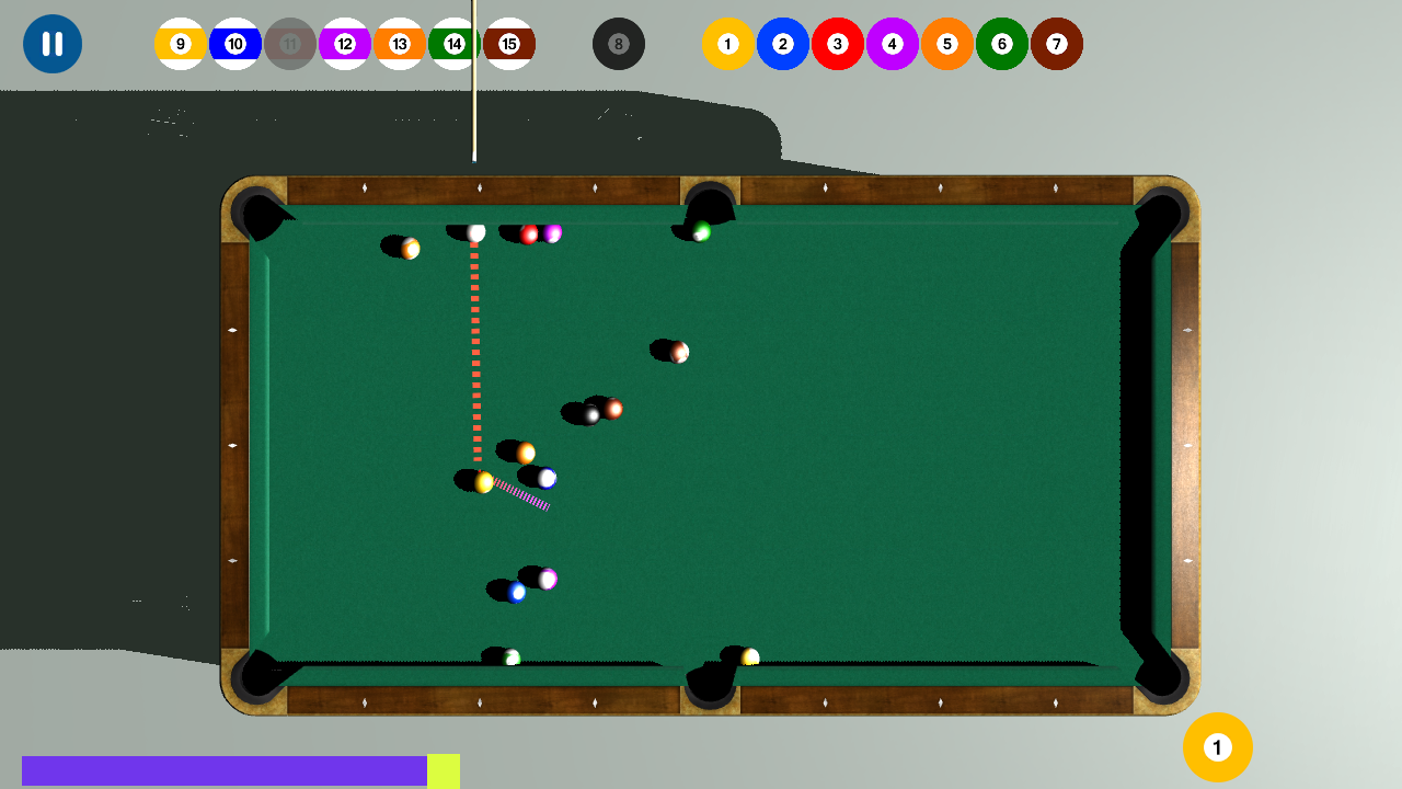 Billard : 8 Ball Pool 9 Ball pool Snooker 3D Pro: Amazon.es ...