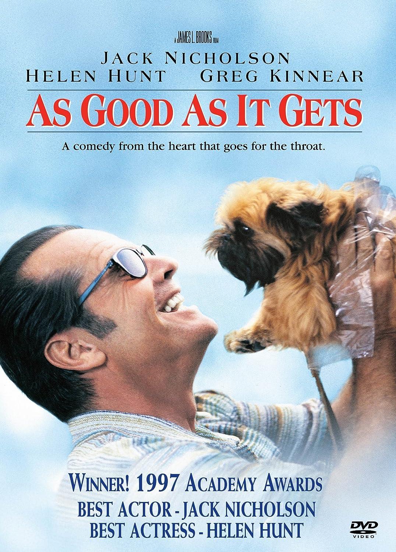 As Good as it Gets: Amazon.in: Jack Nicholson, Helen Hunt, Greg Kinnear, Jesse James, Shirley Knight, Harold Ramis, Skeet Ulrich, Cuba Gooding Jr., Lupe ontiveros ...